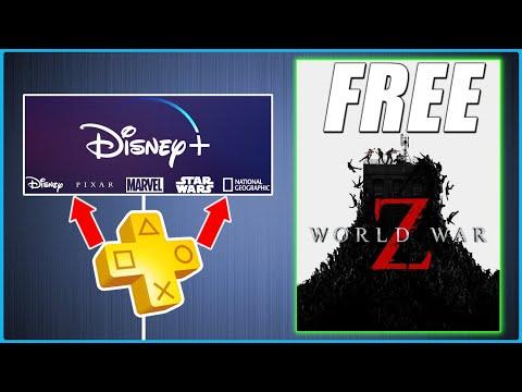 PS Plus Bonus - 5 Free Games - FREE Disney Plus - RIP PS4 Download Speed (Gaming & Playstation News)