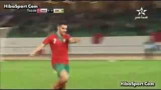 Maroc vs zimbabwe 1 1 But Oussama Assaidi   المغرب 1 1 زيمبابوي   هدف اسامة السعيدي
