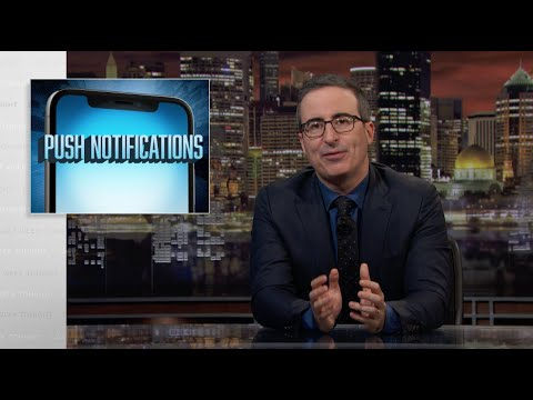 Смотреть Push Notifications: Last Week Tonight with John Oliver (Web Exclusive) онлайн
