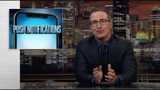 Download Push Notifications: Last Week Tonight with John Oliver (Web Exclusive) Mp3 and Videos