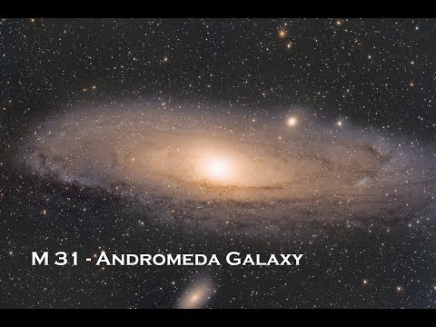 Zoom Into M31 Andromeda Galaxy | Astrophotography