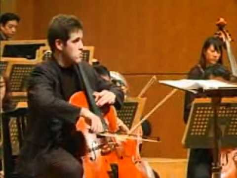 Matt Allen plays Prokofiev Sinfonia Concertante in the Cassado Competition Final 2009