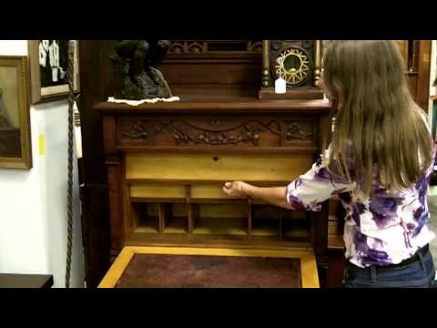 Antique Desk, Antique furniture from our antiques mall at Gannons Antiques