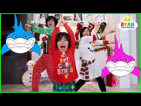 Baby Shark Challenge with Ryan  | Kids Songs Nursery Rhymes Sing and Dance