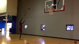 Training Jaylen Johnson (UofL/Chicago Bulls)