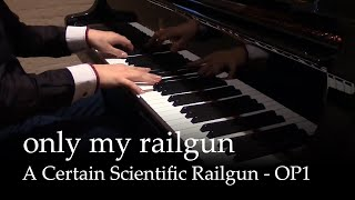 Download lagu Only my Railgun (Full ver.) - A Certain Scientific Railgun OP1  [Piano]