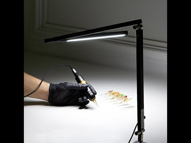 EZ PRO LIGHT LED Desk Lamp - Intro & Install Manual