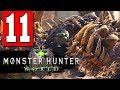 Monster Hunter World: Walkthrough Part 11 - HUNT A RADOBAAN / SIGHT A GREAT GIRROS