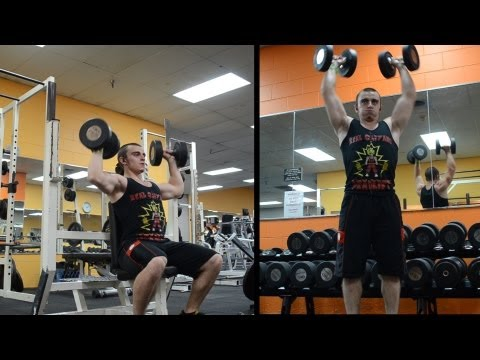 Why I Do Seated Dumbbell Press Instead Of Military Press