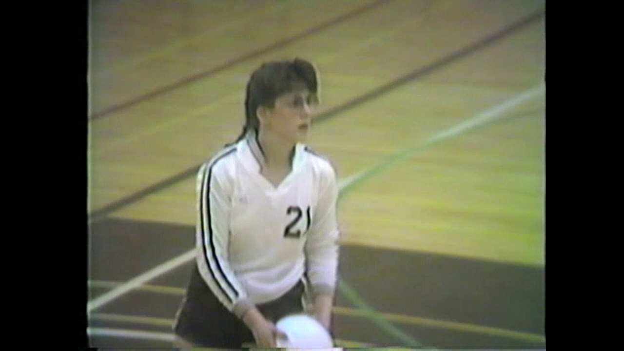 NCCS - AuSable Valley Volleyball  2-13-87