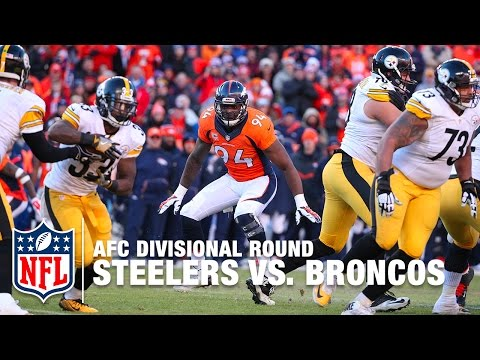 Steelers vs. Broncos (AFC Divisional Round) | DeMarcus Ware vs. Ben Roethlisberger | NFL Mini Replay