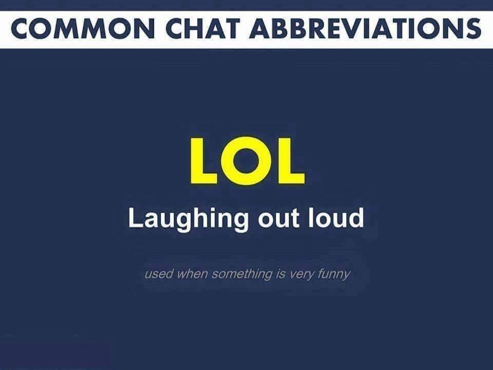 Common Chat Abbreviations For Whatsapp And Chats Youtube