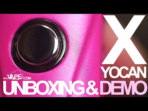 Yocan X Unboxing & Review 🌊Concentrate Pod Vape Pen? DEMO / First Impressions | EDUVAPE.COM