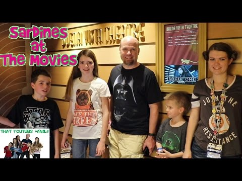 Sardines in a Movie Theater - Hide and Seek / That YouTub3 Family