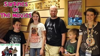 SARDiNES Hide And Seek In A Movie Theater (Cinema) / That YouTub3 Family Family Channel