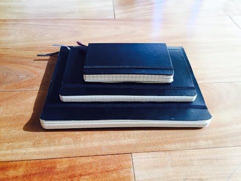 Moleskine Notebook Size Comparison
