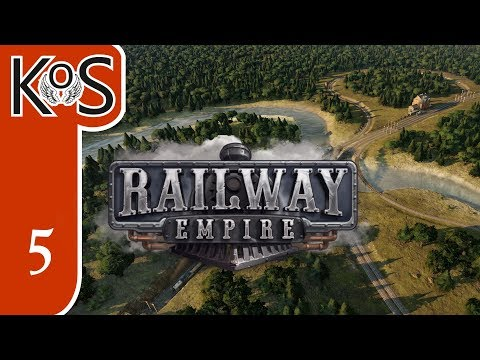 Railway Empire Ep 5: Campaign Ch 3 OVER THE MISSISSIPPI - Let's Play, Gameplay