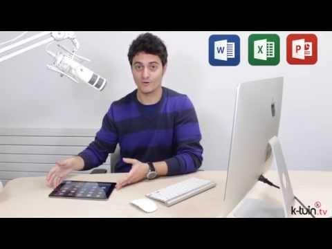 Microsoft Office 365 para Mac y también para iPad en K-tuin.com