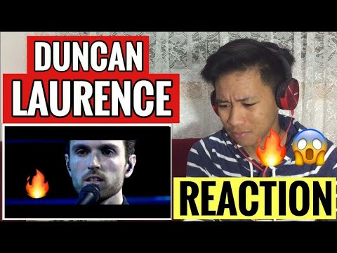 WOW! Duncan Laurence - Arcade (live acoustic at DWDD) | Eurovision 2019 | REACTION