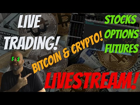 Futures Open, Discussing Bitcoin, Ethereum, Alt Coins and NIO DAY! Stock Market Talk LIVE STREAM!