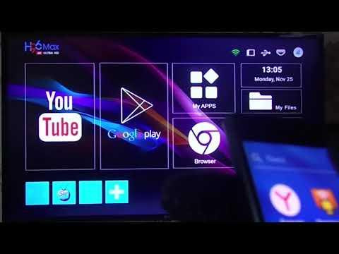 Подключение смартфона к телевизору через ТВ приставку.