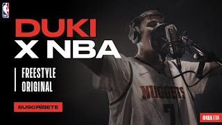 DUKI - NBA FREESTYLE  [VIDEO OFICIAL]