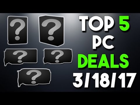 Top 5 PC Hardware Deals of the Week 3/18/17