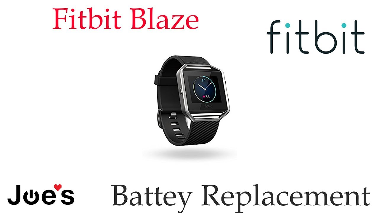 Fitbit Blaze Battery Replacement Bad Battery
