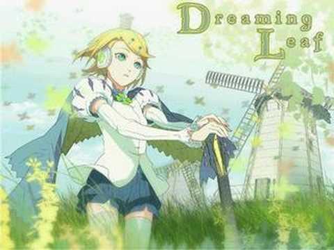 """Dreaming Leaf "" (Vocaloid2 Kagamine Rin Original Song)"