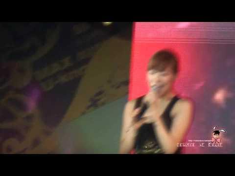 [FANCAM] 100911 SNSD Yuri - HAHAHA Song@SM Town shanghai Concert 2010