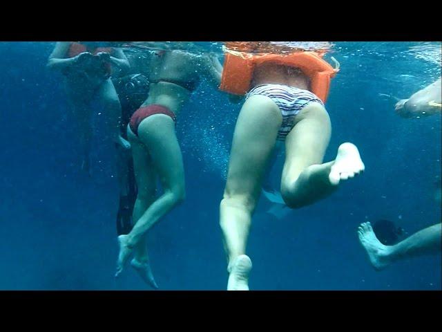 Подводное видео о сексе весьма