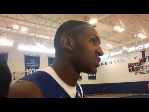 Dominican Republic Al Horford Post-Practice Interview