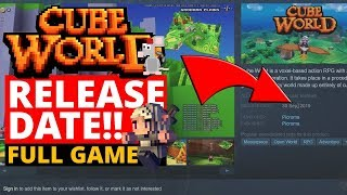 Cube World Full Release Date Huge News Full Game 1 0 Youtube