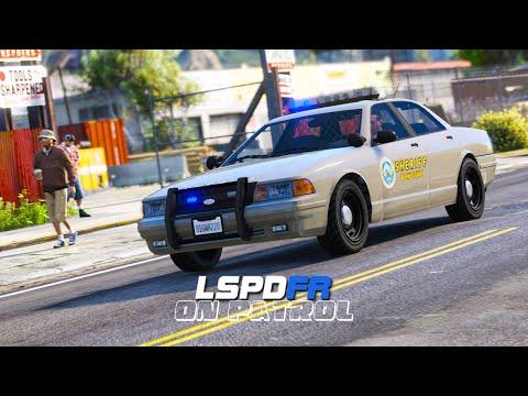 LSPDFR - On Patrol - Day 18 - Sheriff POV Patrol