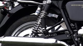 Custom Triumph T120 Securing Your Motorcycle For Transportlifting