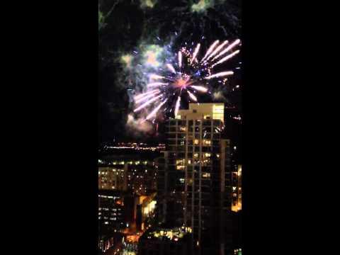San Diego Padres Fireworks
