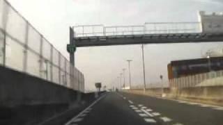 110410阪神高速11号池田線大阪空港~池田木部