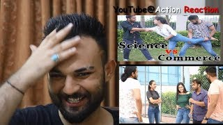 Pakistani Reaction | Science VS Commerce |  Idiotic Launda | Rahul Sehrawat