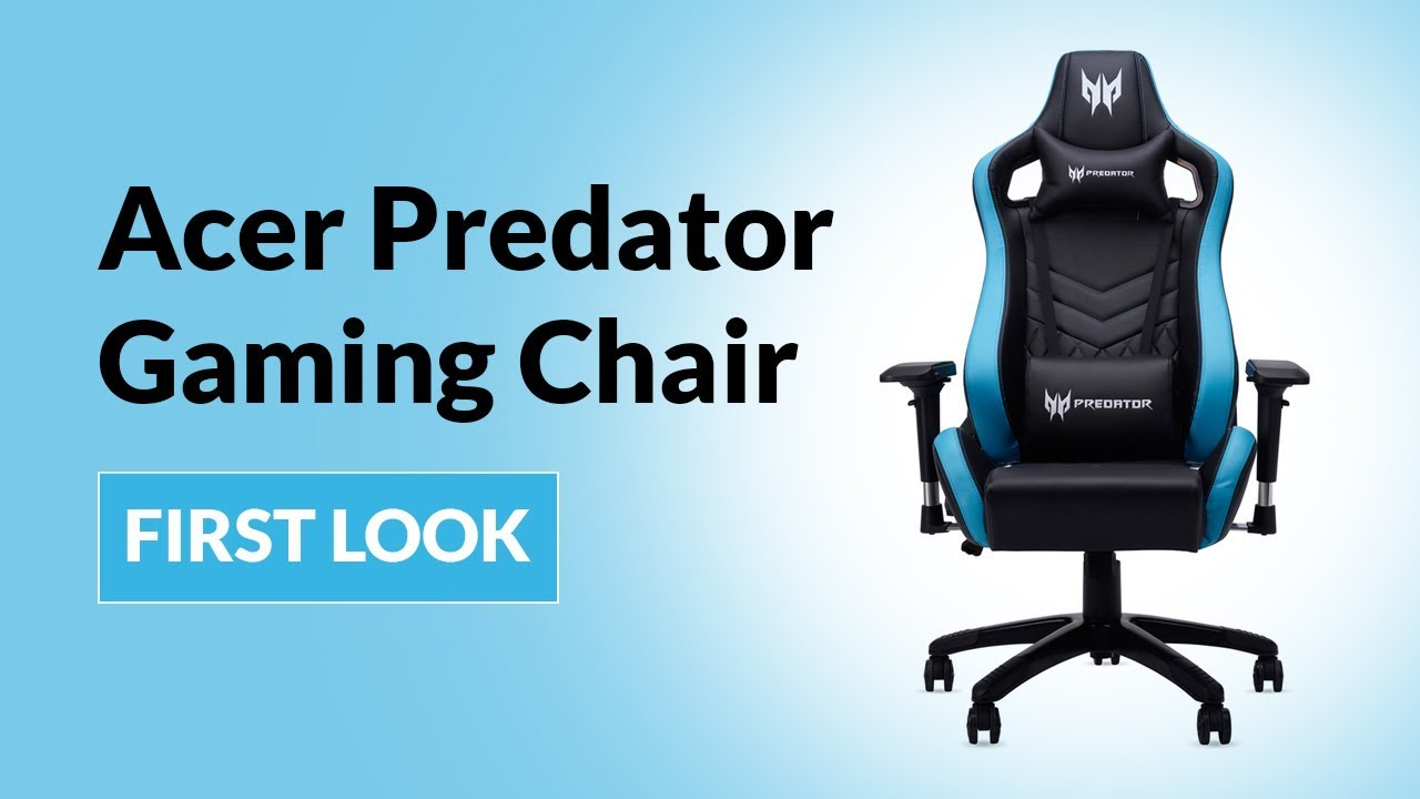 Stuhl Gaming Acer Predator Gaming Chair: First Look | Digit.in - Youtube