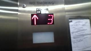 FAST ?? Traction Elevator To DSW At An ?? Shopping Center In Harlem NYC