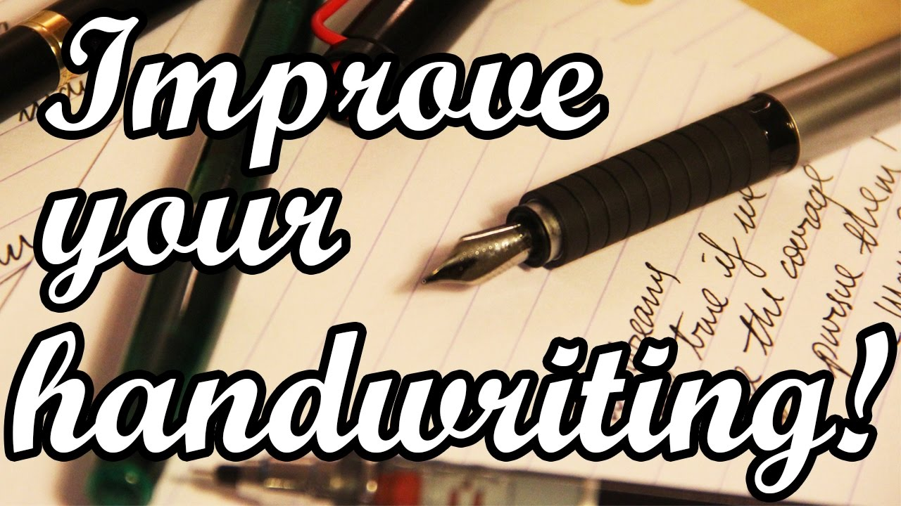 how to handle pen for good handwriting