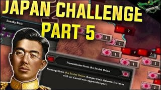 HOI4 Japan - World Conquest Historical Challenge - Part 5 (Hearts of Iron 4 Man the Guns)