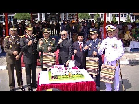 PERINGATAN HUT KE 73 TNI DI KEP BANGKA BELITUNG