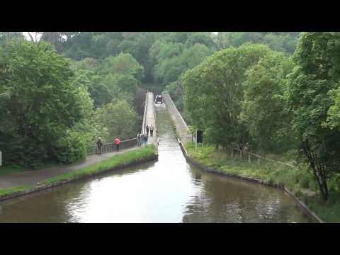 Tour of Llangollen Canal and Pontcysyllte Aqueduct