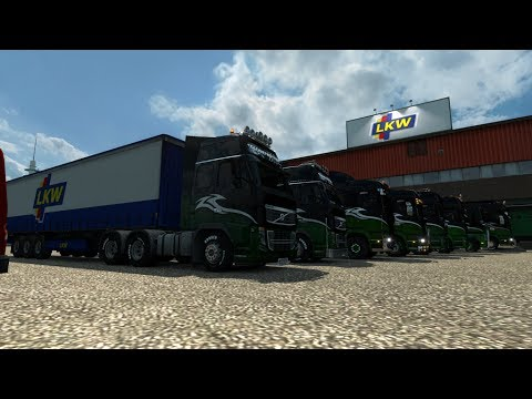 ETS2 Multiplayer : Hauling The Loads For Stobart : Torino to Stockholm