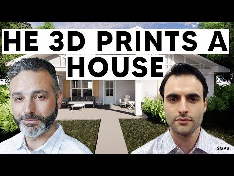 3D Printing An Entire House Live on Site! Is This the Solution To High Real Estate Prices?