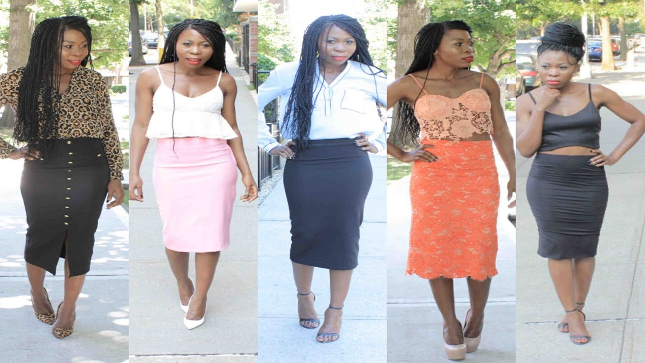 skirts pencil style dress ala