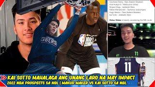 Kai Sotto - Mahalaga ang unang laro na may Impact | 2022 NBA Prospects sa NBL | Makur Maker sa NBL?