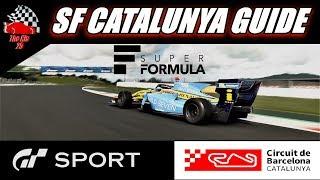 GT Sport Super Formula Catalunya Guide - Daily Race C