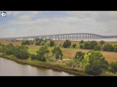 Project director on features of proposed Harbor River Bridge